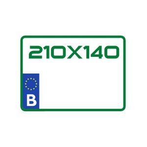 reproduction plaque z pour garage ou essais dimensions 210X140