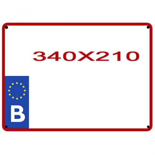 copie de plaque utilitaire pour auto belge