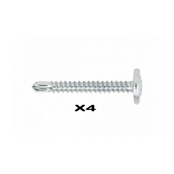 vis de fixation auto-perceuse pour support de plaque 2,7 mm X4 pièces